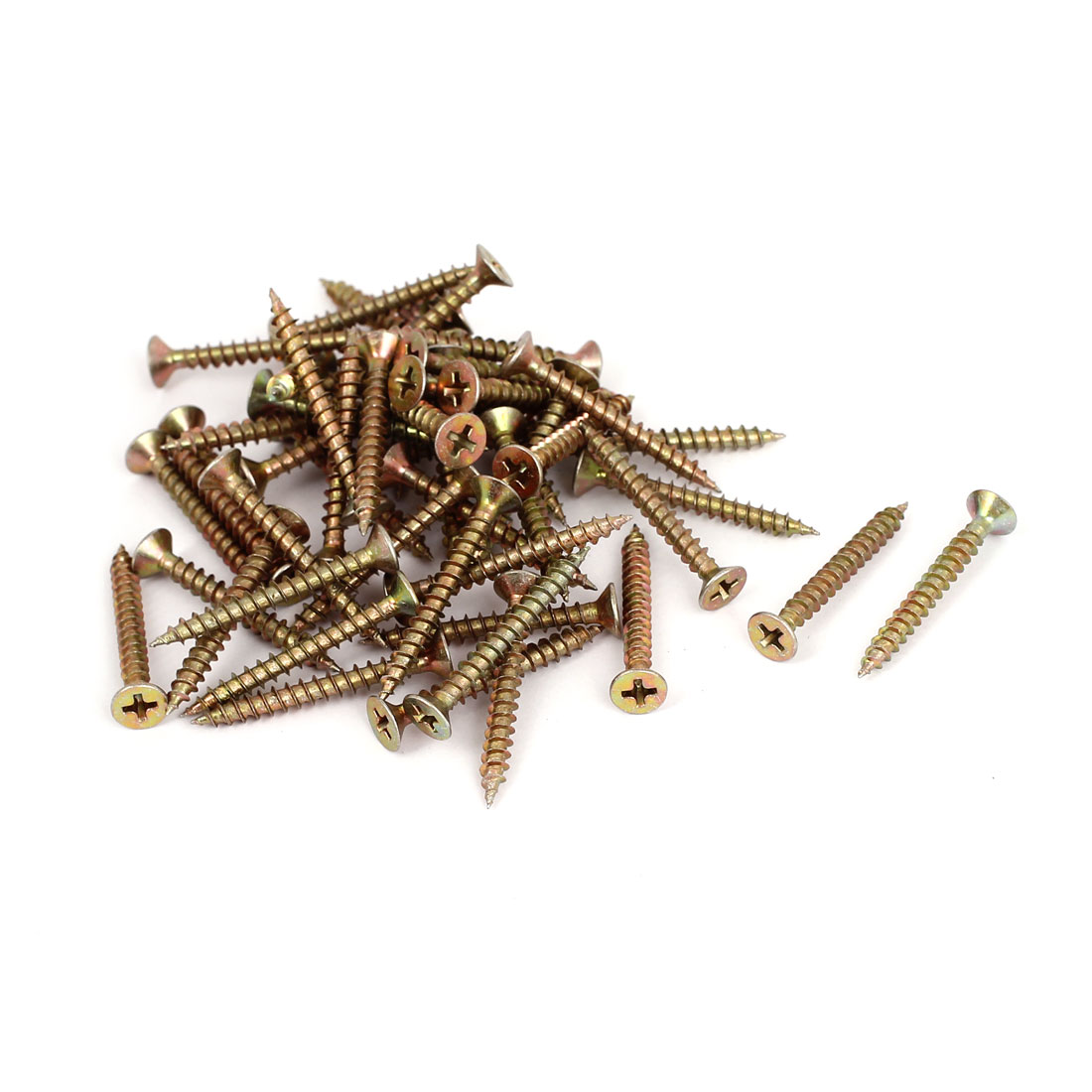 4mmx35mm Phillips Flat Head Sheet Metal Self Tapping Drilling Screws Fasteners 50pcs