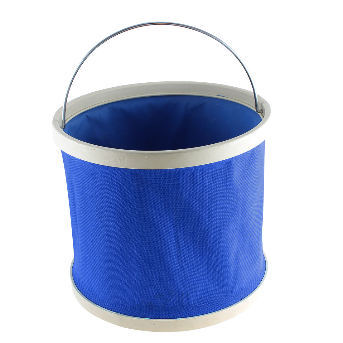 Blue Auto Car Outdoor Camping Fishing Folding Collapsible Bucket