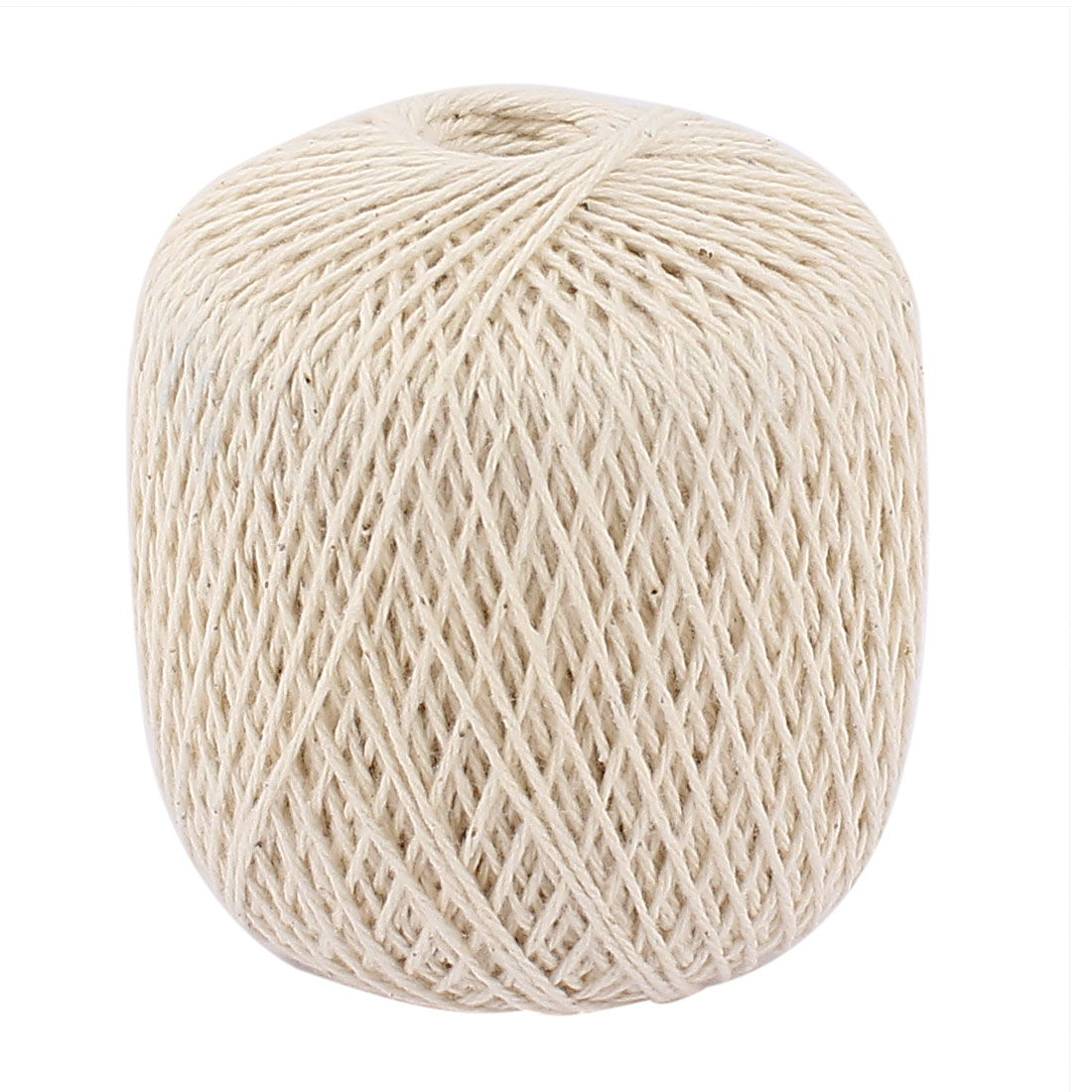 Beige Cotton Packaging Label Binding Sewing Twine String Rope 100M