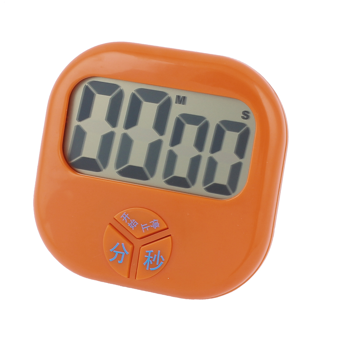 Alarm Portable Digital Second Minute Count Down Timer Orange