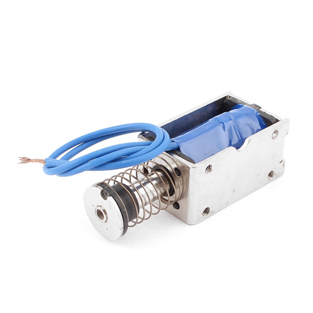 Push Pull Type DIY DC Electromagnet Magnet Solenoid 15mm 45N DC 24V 2A