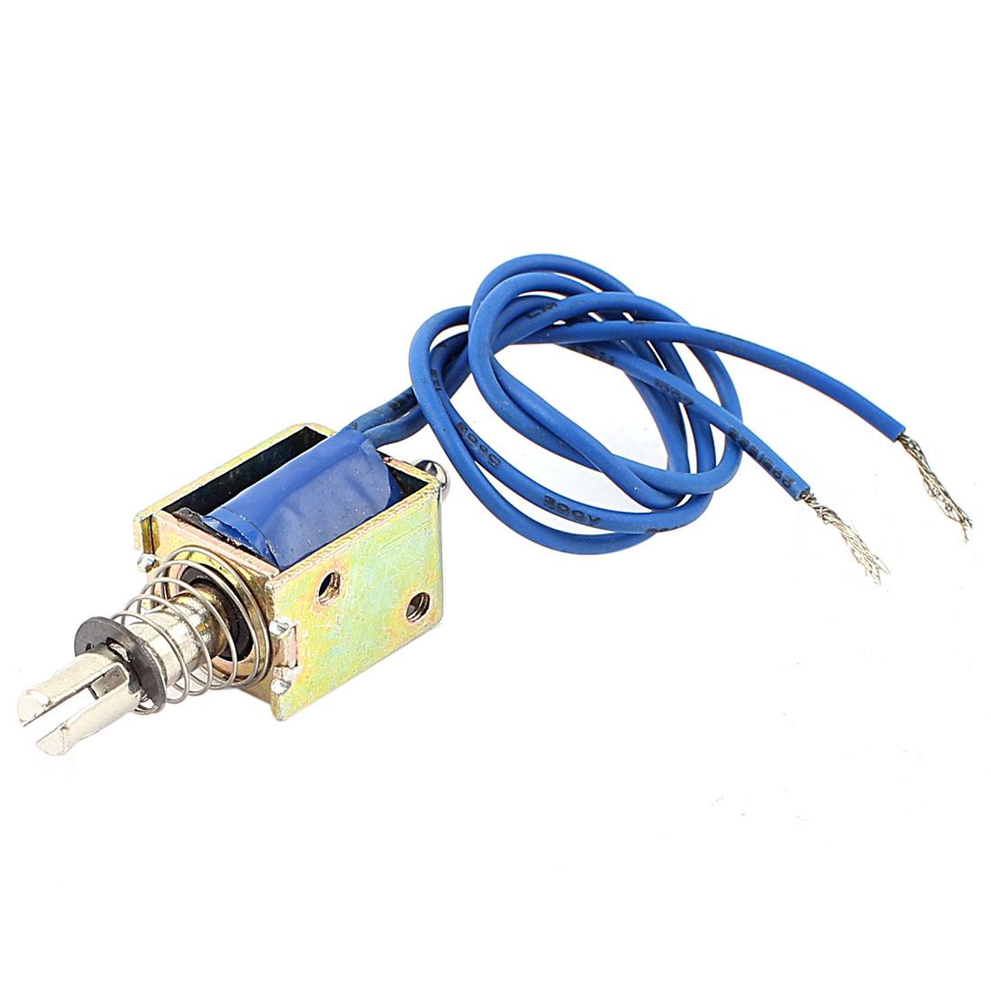 Push Pull Type DIY DC Electromagnet Magnet Solenoid 10mm 4N DC 12V 0.7A