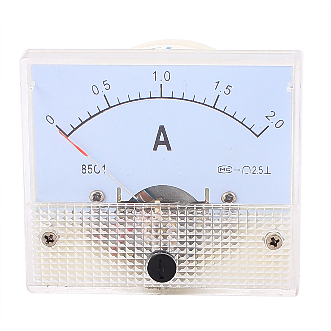 DC 0-2.0 A Analog Ammeter Analogue Panel Ampmeter Current Meter Gauge