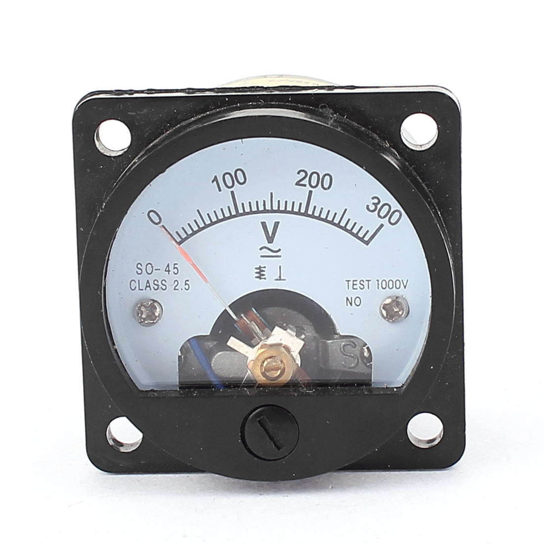 AC 0-300V Analog Panel Voltmeter Voltage Meter Measuring Gauge Class 2.5