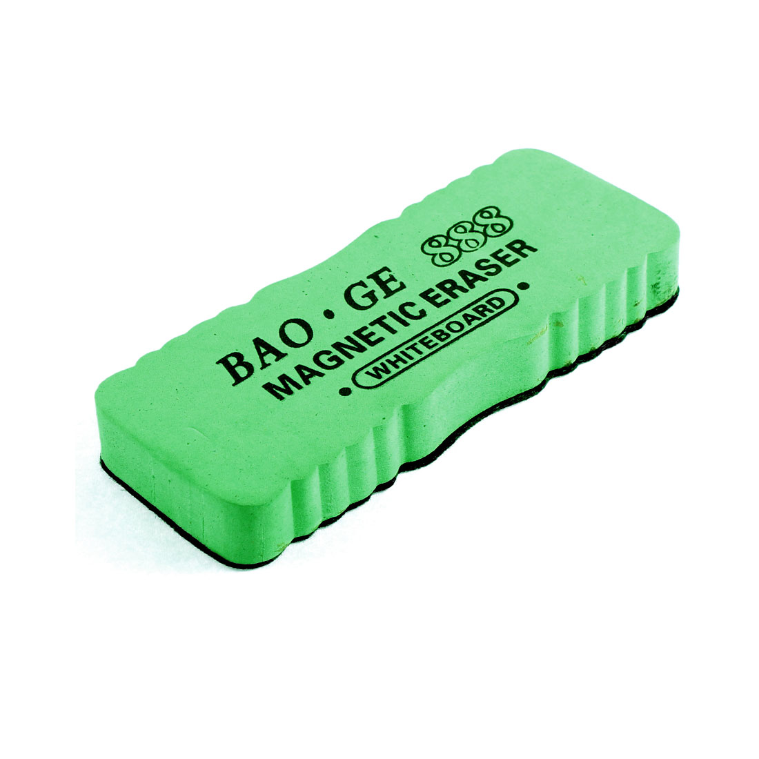 Magnetic Dry Wipe Notice Message Whiteboard Eraser Green for School Office