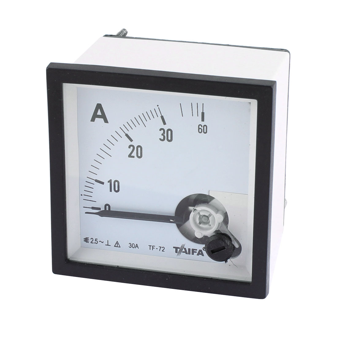 AC 0-30A Class 1.5 Accuracy Current Testing Panel Meter Analog Ammeter