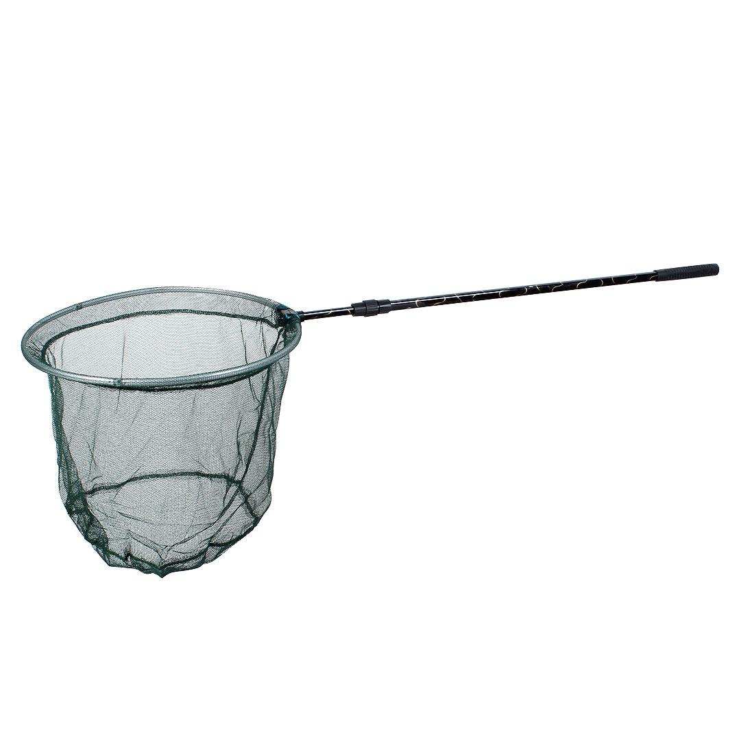 Retractable Metal Handle Folding Fishing Landing Dip Net 121cm 2 Sections
