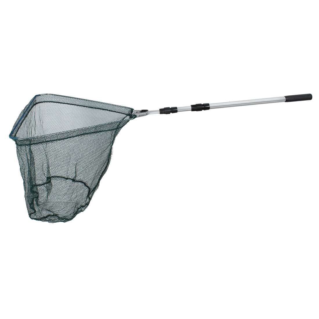 Telescoping Handle 158cm 3 Sections Fishing Triangular Landing Dip Net