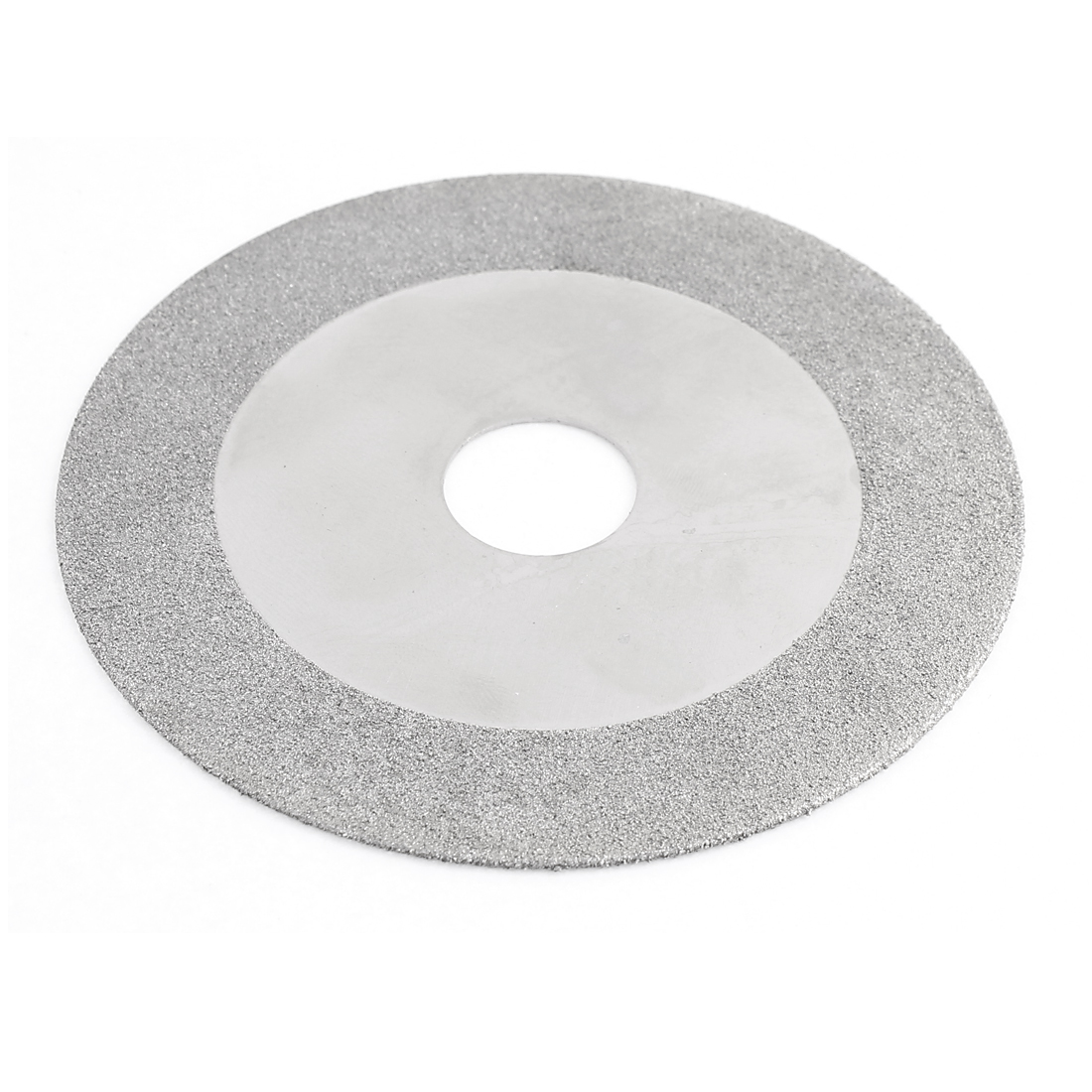 "Glass Tile Grinding Cutter Cutting Wheel Disc 4"" x 3/4"" Silver Tone"