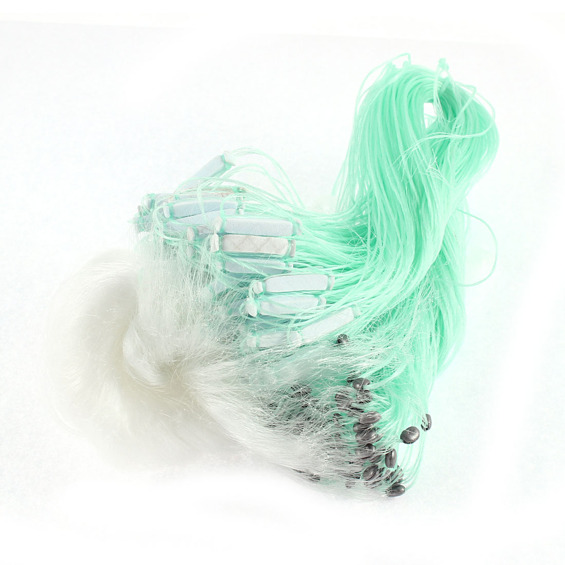 30M x 1.2M Clear White Green Monofilament Fishing Fish Gill Net