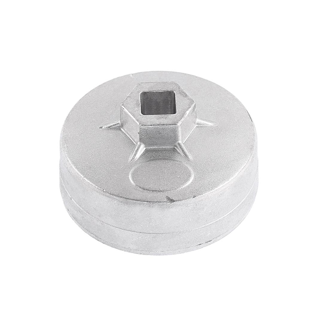 75mm Inner Dia 15 Flutes Cap Oil Filter Wrench Socket Remover Tool for Car