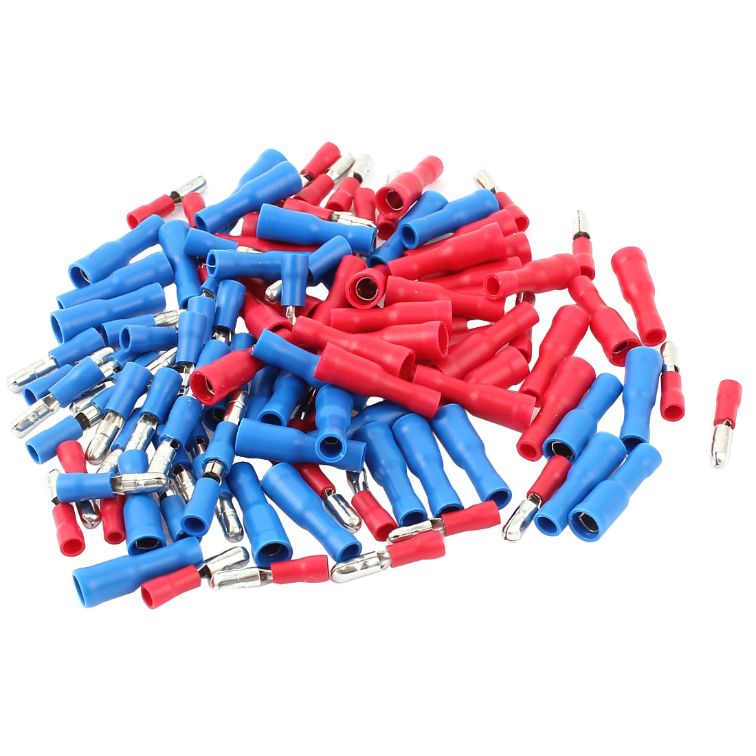 120Pcs 16-14 AWG Insulated Connector Male to Female Crimp Terminals MPD2-156