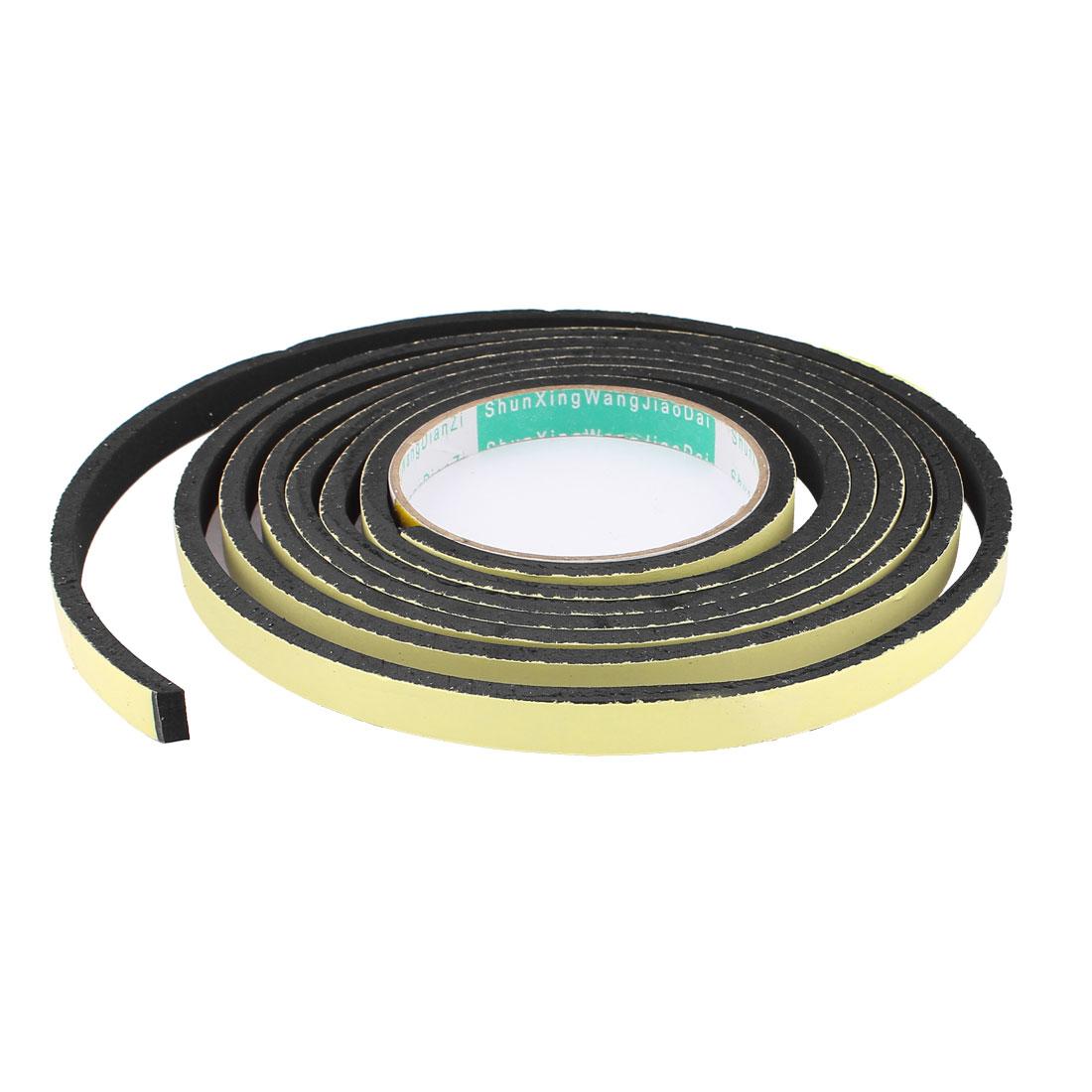 3 Meter 10mm x 5mm Single Side Adhesive Foam Sealing Tape for Door Window