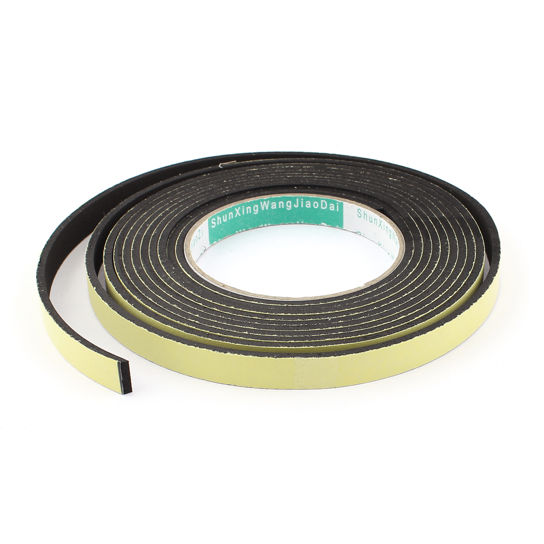 4M 12mm x 3mm Single Side Adhesive Foam Sealing Tape for Door Window