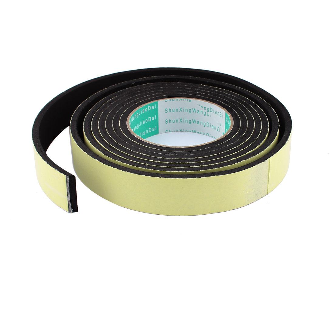3 Meter 30mm x 5mm Single Side Adhesive Foam Sealing Tape for Door Window