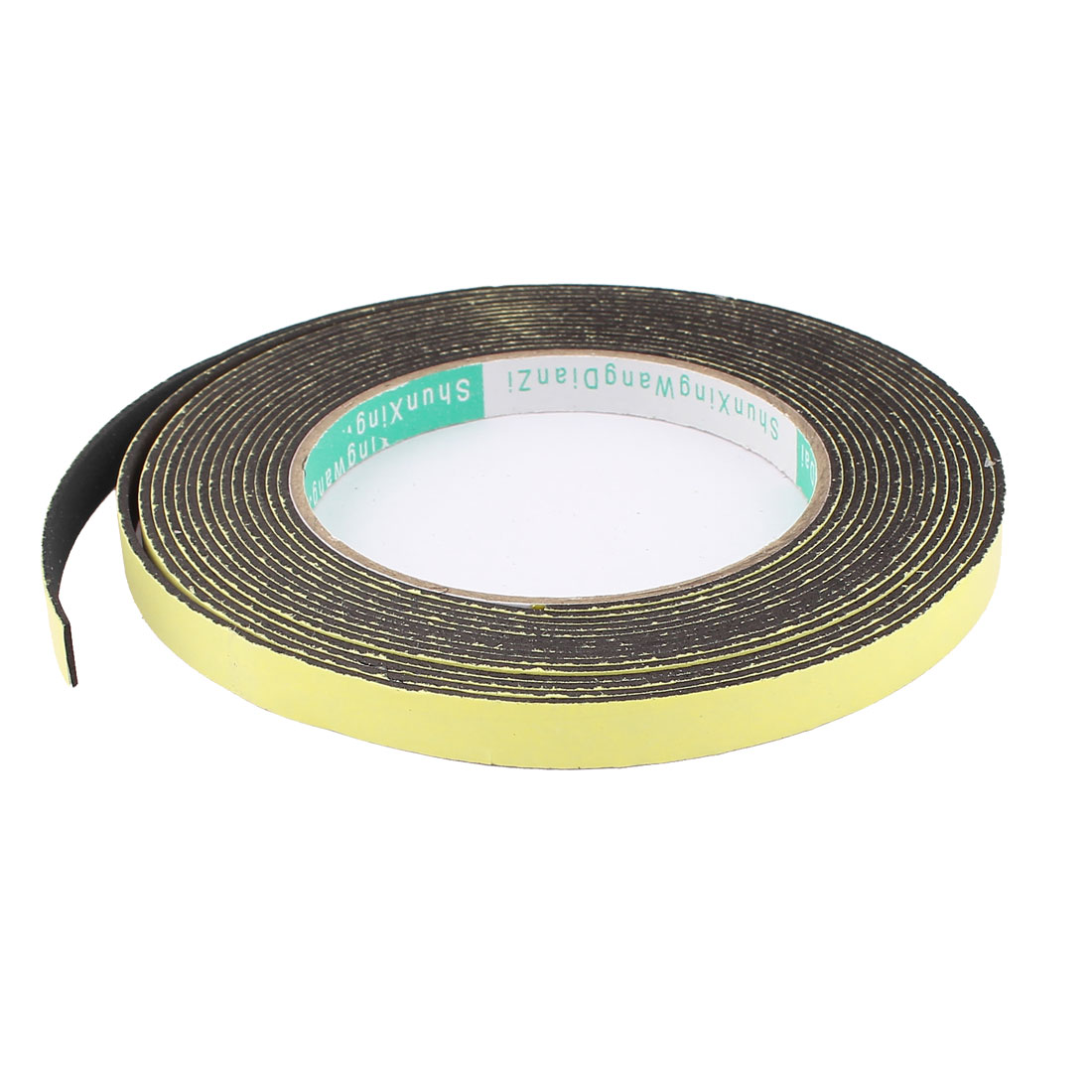 5M 10mm x 1.5mm Single Side Adhesive Foam Sealing Tape for Door Window