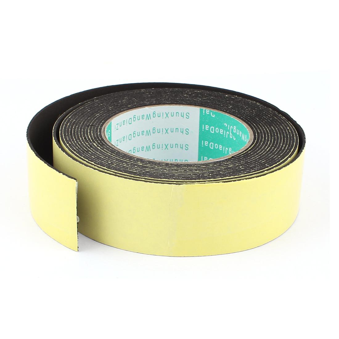 5M 40mm x 1.5mm Single Side Adhesive Foam Sealing Tape for Door Window