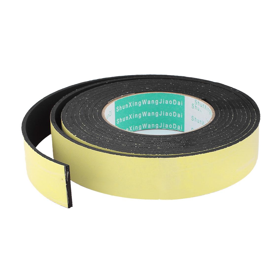 4M 30mm x 3mm Single Side Adhesive Foam Sealing Tape for Door Window