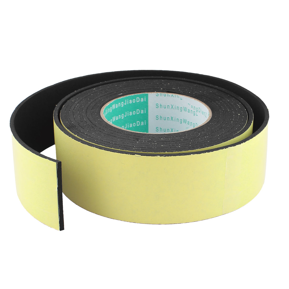 4M 50mm x 3mm Single Side Adhesive Foam Sealing Tape for Door Window