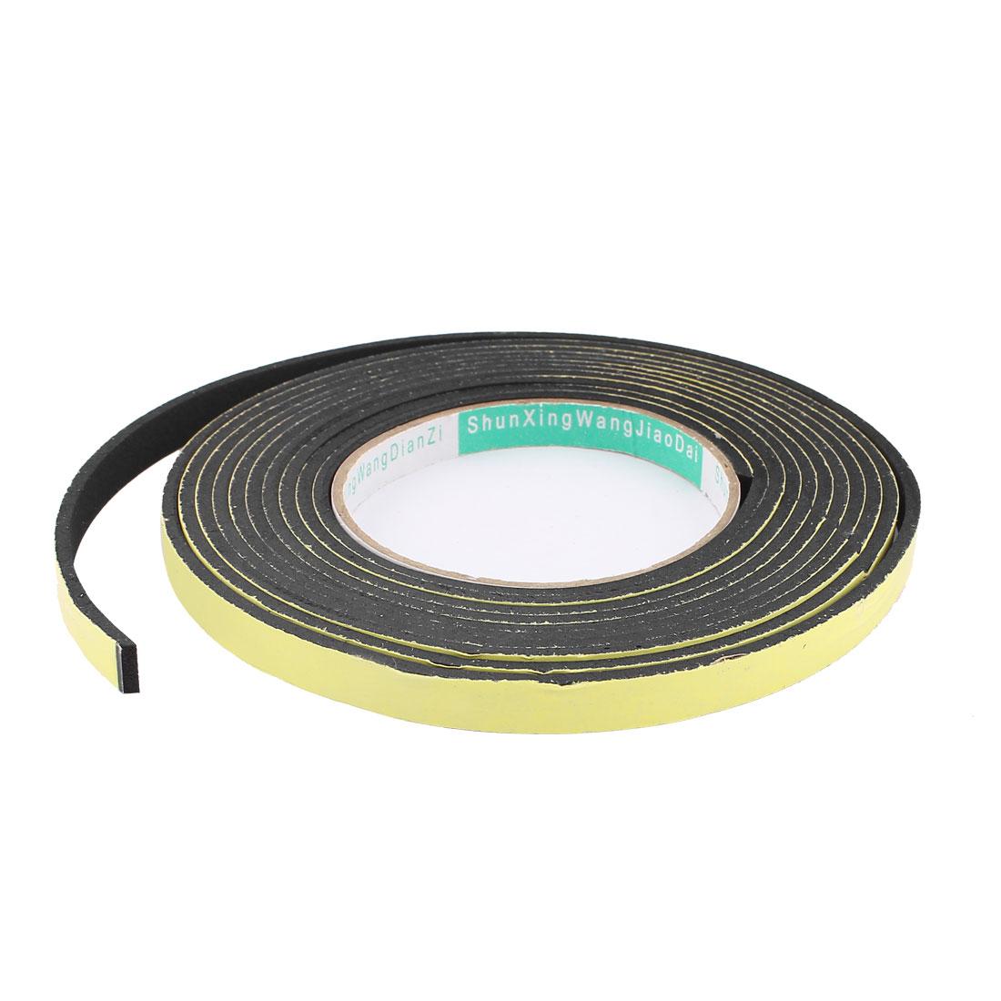 4M 10mm x 3mm Single Side Adhesive Foam Sealing Tape for Door Window