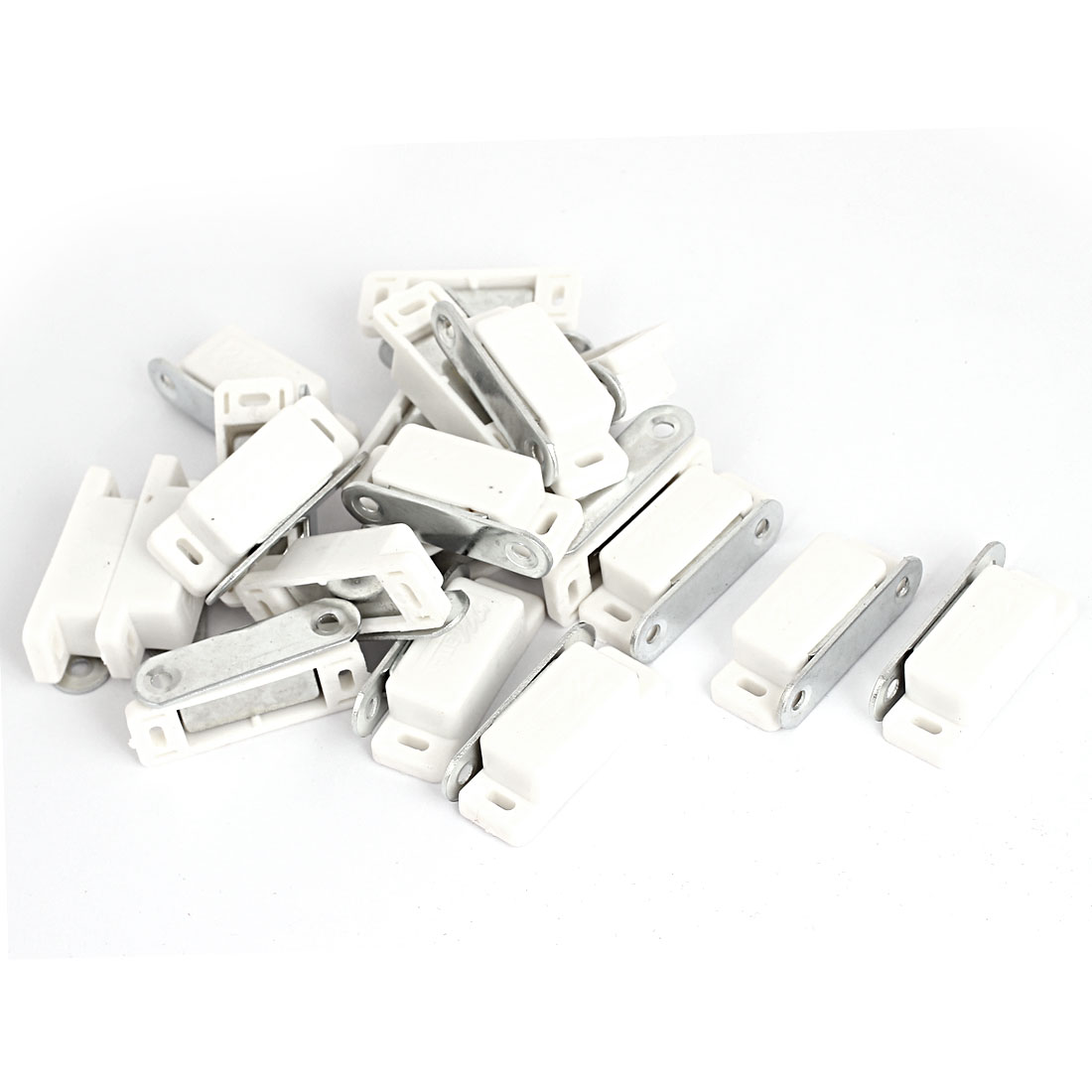 46mm Length Magnetic Catch Latch Metal Plate 20Pcs for Door Cupboard Cabinet