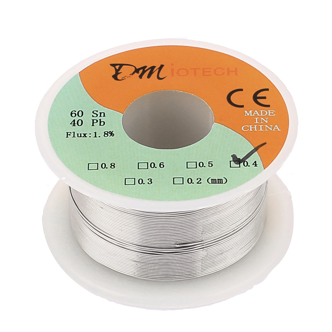 0.4mm Rosin Core Solder Tin Lead Solder Wire 60/40 for Electrical Soldering 50g