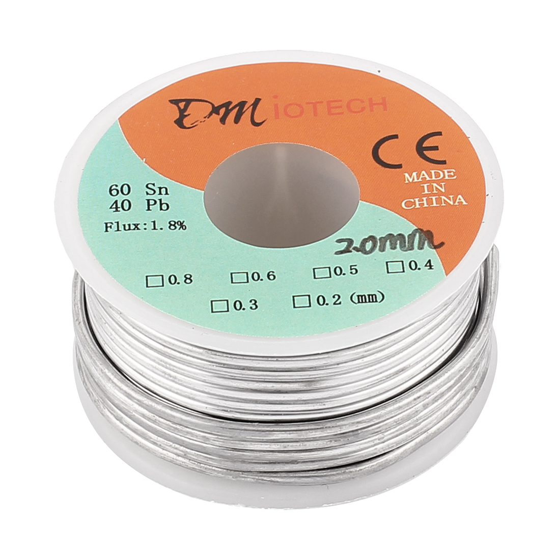 2mm Rosin Core Solder Tin Lead Solder Wire 60/40 for Electrical Soldering 150g