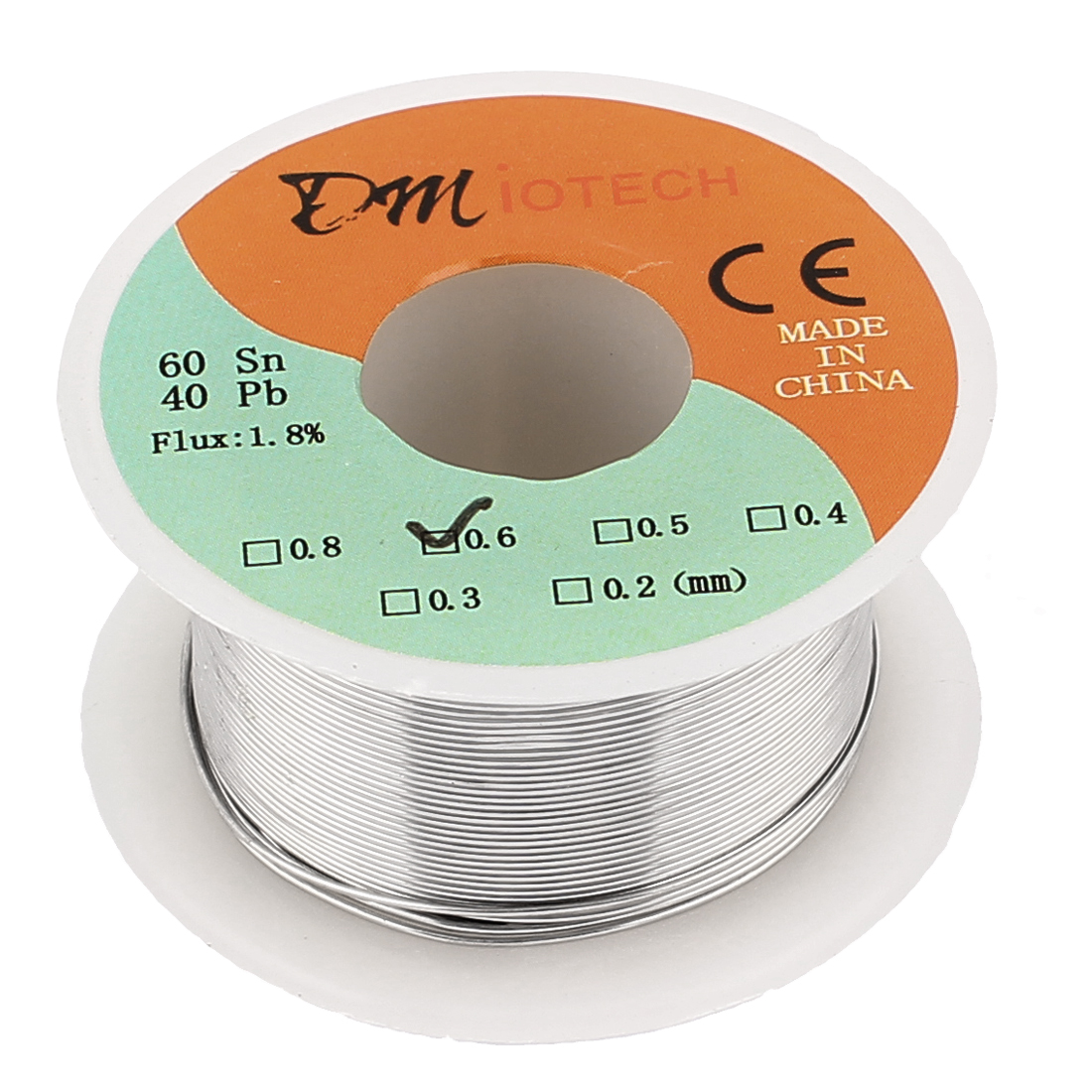 0.6mm Rosin Core Solder Tin Lead Solder Wire 60/40 for Electrical Soldering 35g