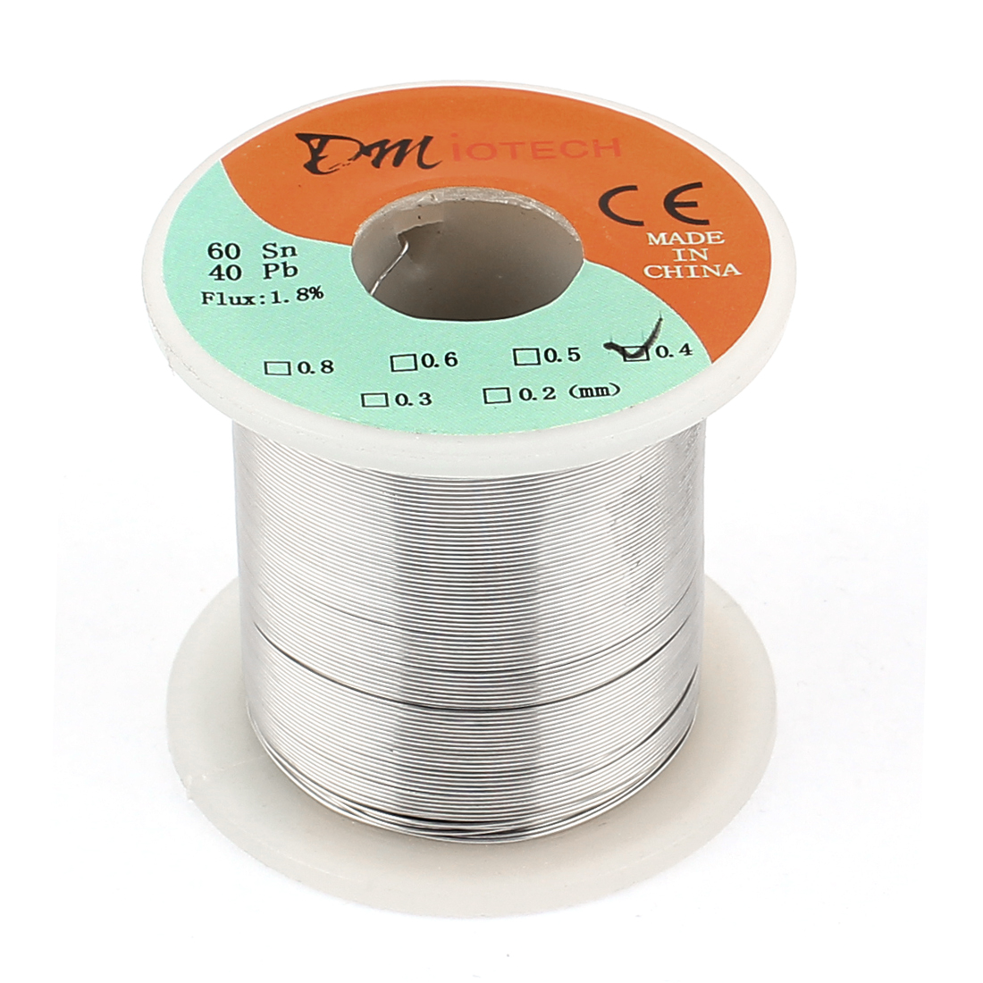 0.4mm 200G 60/40 Rosin Core Tin Lead Roll Soldering Solder Wire