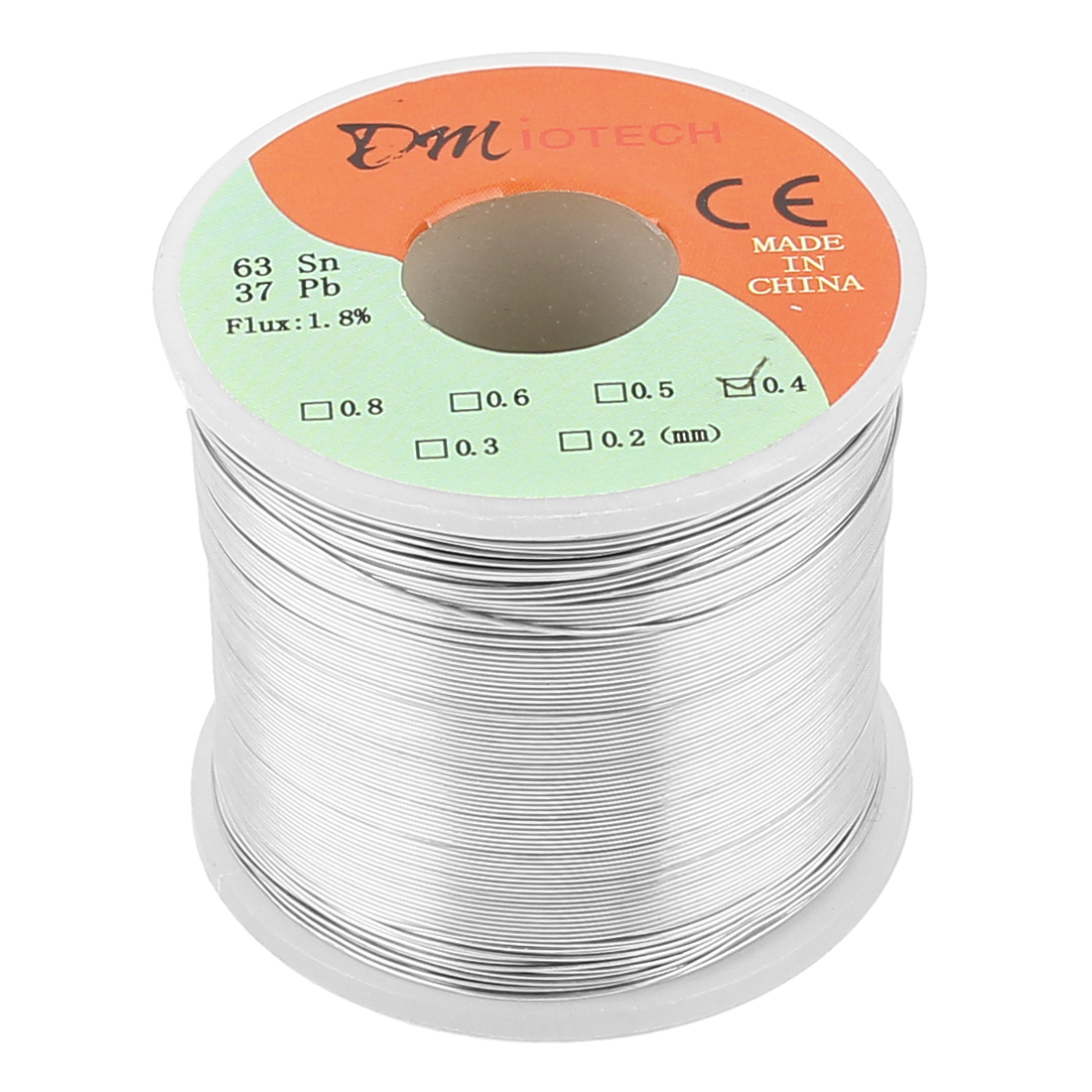 0.4mm Rosin Core Solder Tin Lead Solder Wire 63/37 for Electrical Soldering 400g