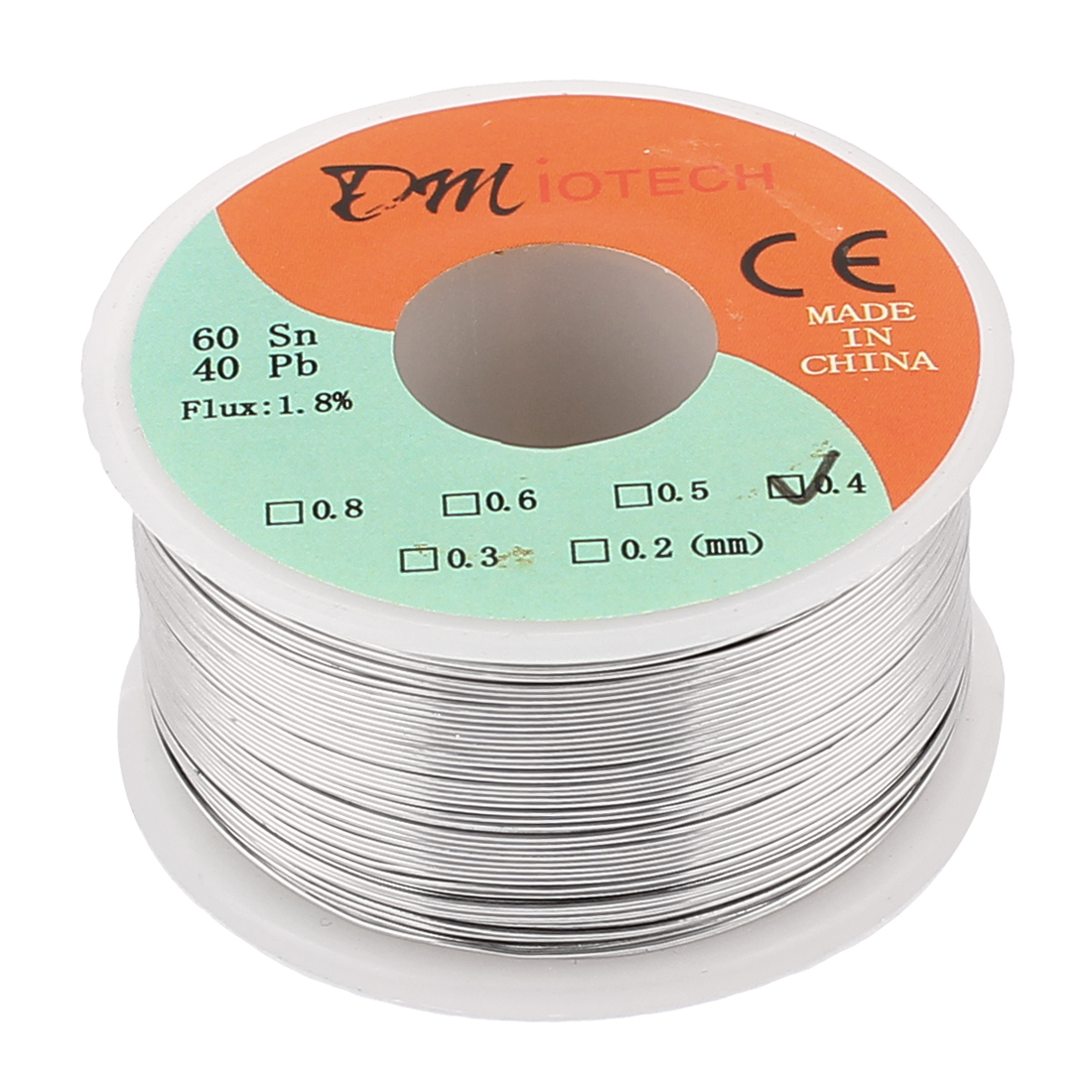0.4mm Rosin Core Solder Tin Lead Solder Wire 60/40 for Electrical Soldering 150g