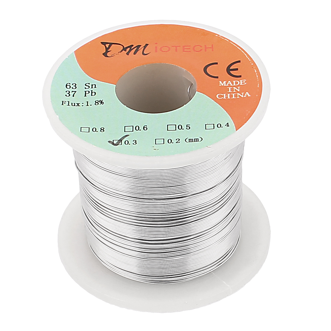0.3mm Rosin Core Solder Tin Lead Solder Wire 63/37 for Electrical Soldering 200g