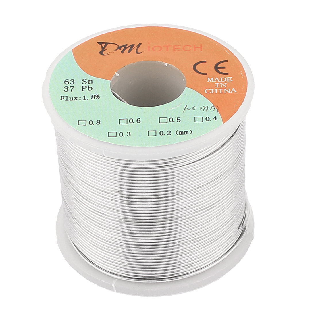 1mm Rosin Core Solder Tin Lead Solder Wire 63/37 for Electrical Soldering 400g