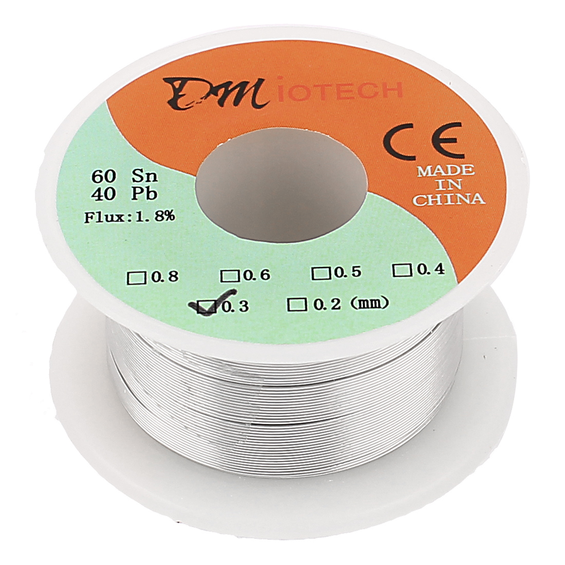 0.3mm Rosin Core Solder Tin Lead Solder Wire 60/40 for Electrical Soldering 35g