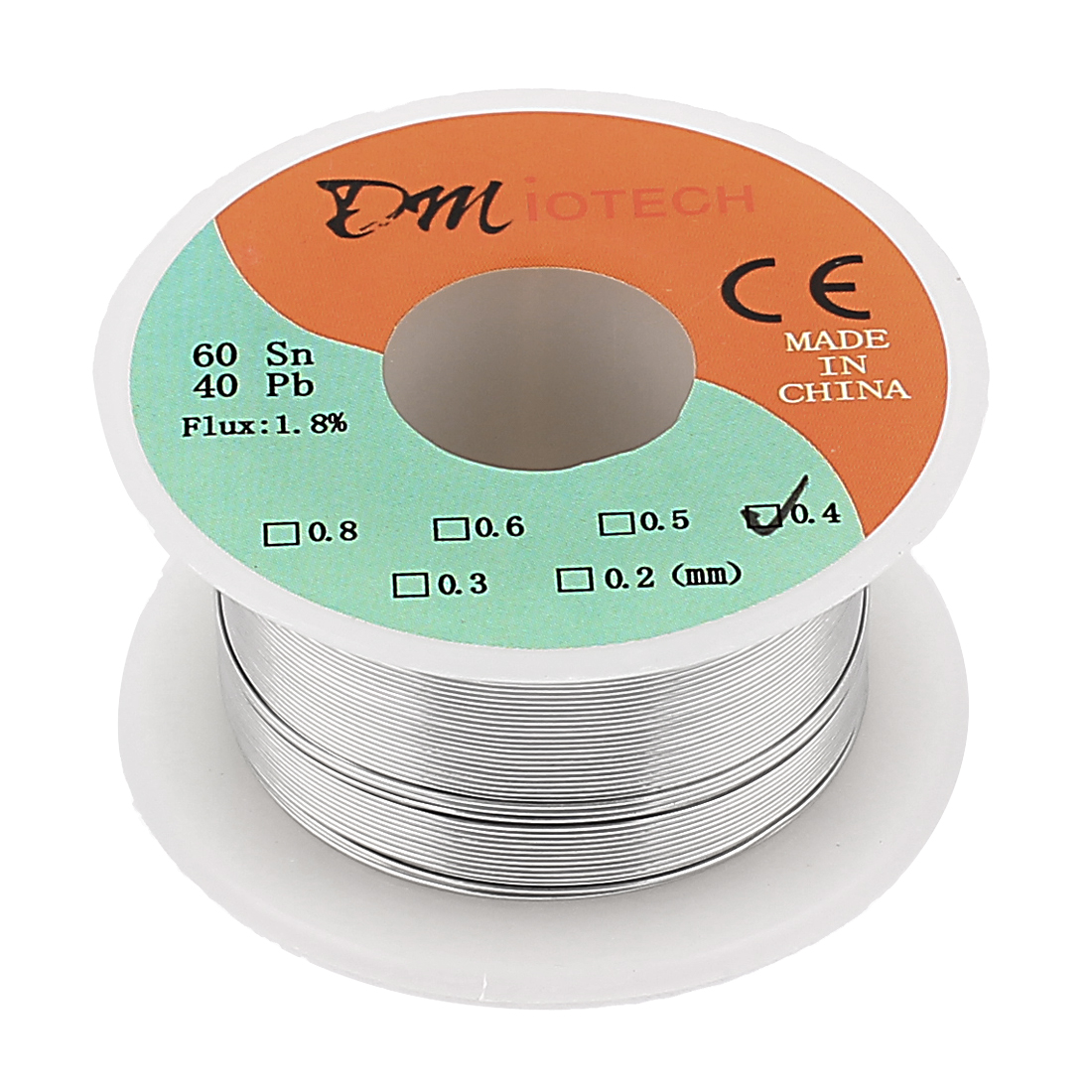 0.4mm Rosin Core Solder Tin Lead Solder Wire 60/40 for Electrical Soldering 35g