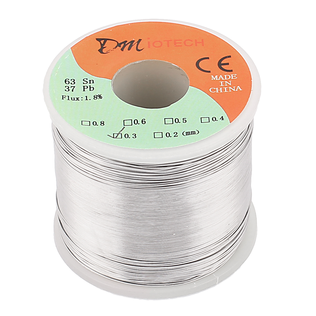 0.3mm Rosin Core Solder Tin Lead Solder Wire 63/37 for Electrical Soldering 400g