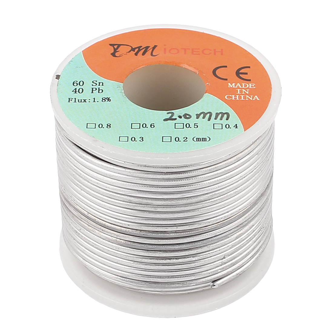 2mm Rosin Core Solder Tin Lead Solder Wire 60/40 for Electrical Soldering 400g