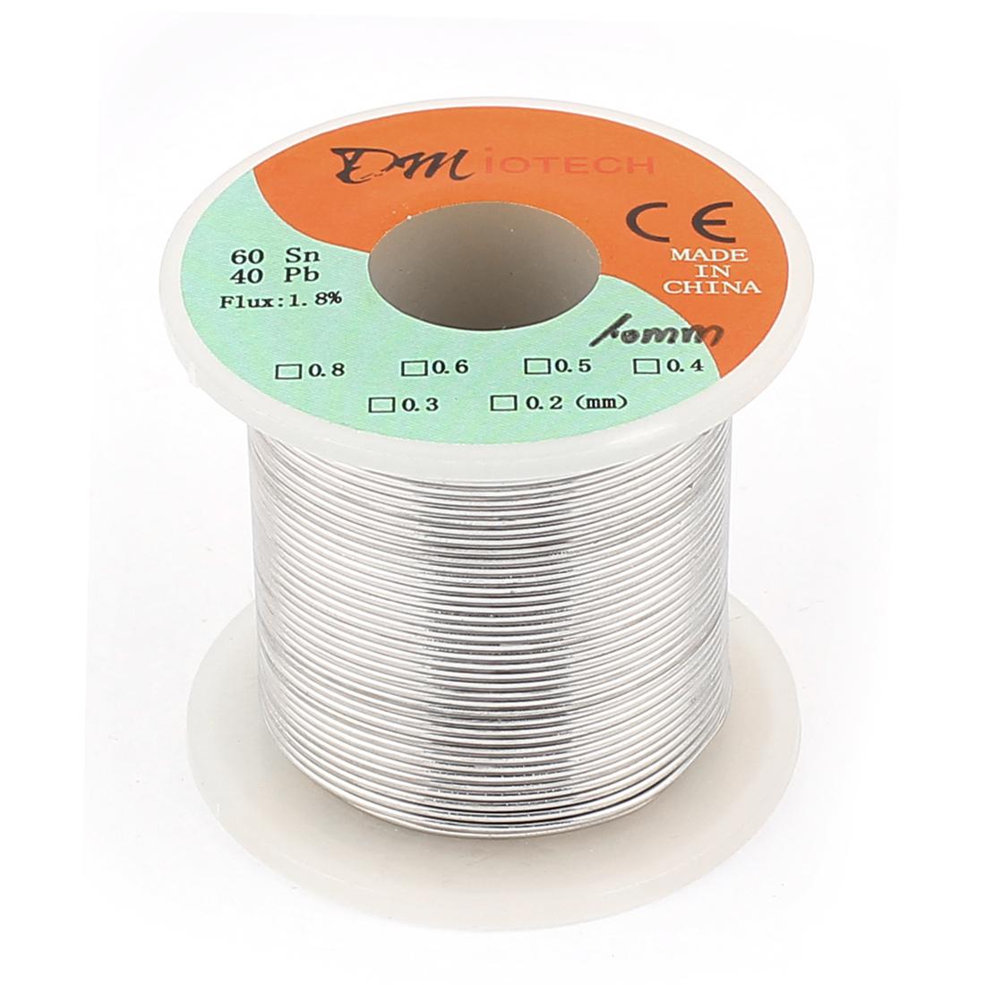 1mm 200G 60/40 Rosin Core Tin Lead Roll Soldering Solder Wire