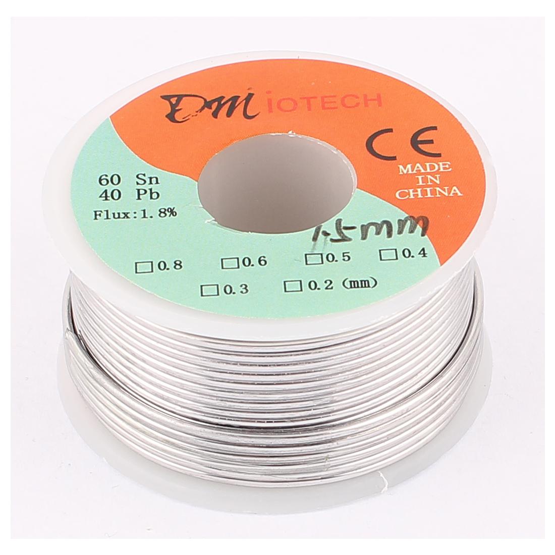 1.5mm 150G 60/40 Rosin Core Tin Lead Roll Soldering Solder Wire