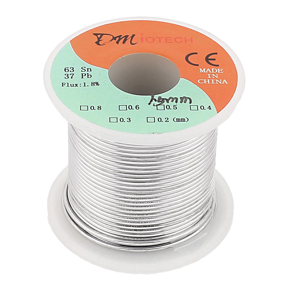 1.5mm Rosin Core Solder Tin Lead Solder Wire 63/37 for Electrical Soldering 200g