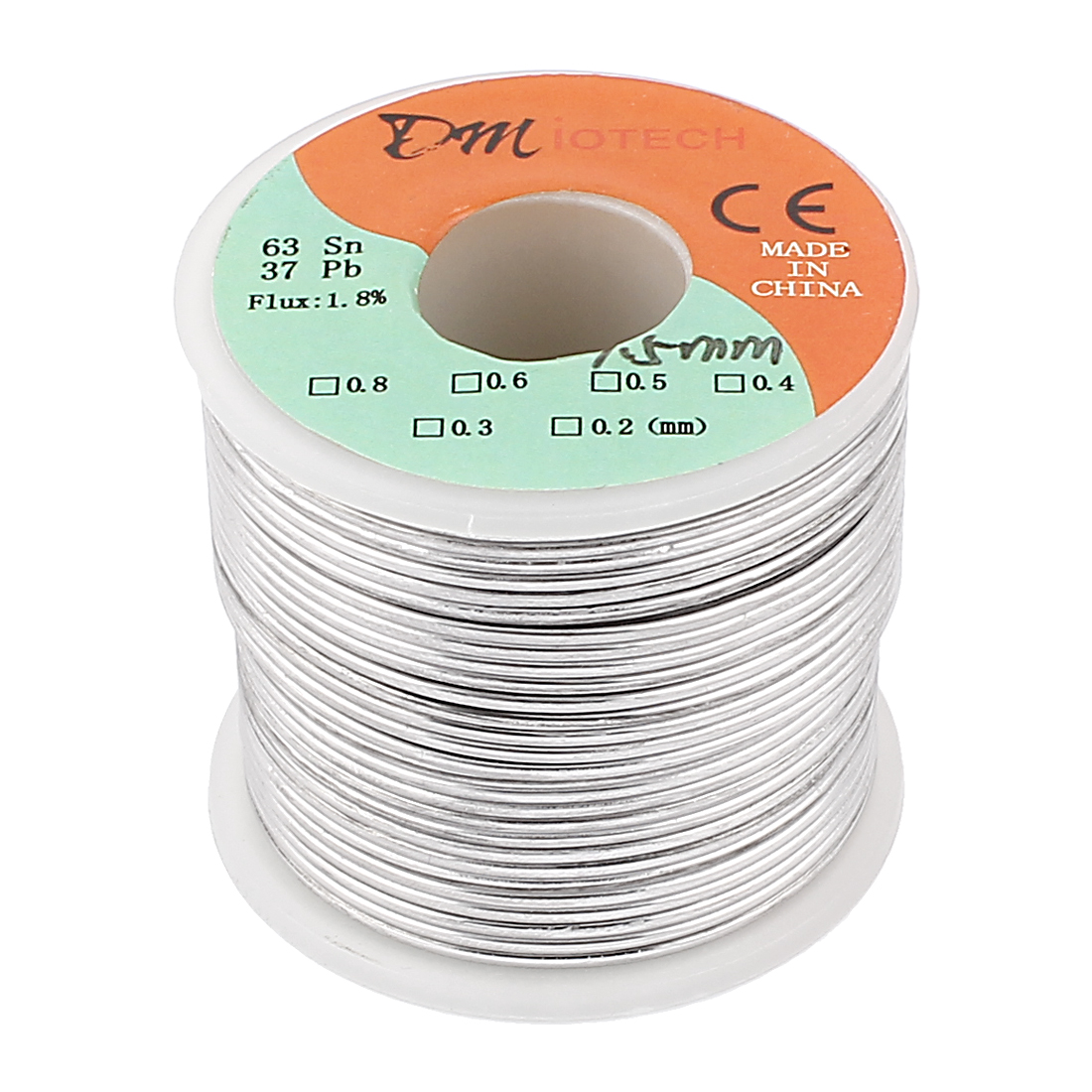 1.5mm Rosin Core Solder Tin Lead Solder Wire 63/37 for Electrical Soldering 400g