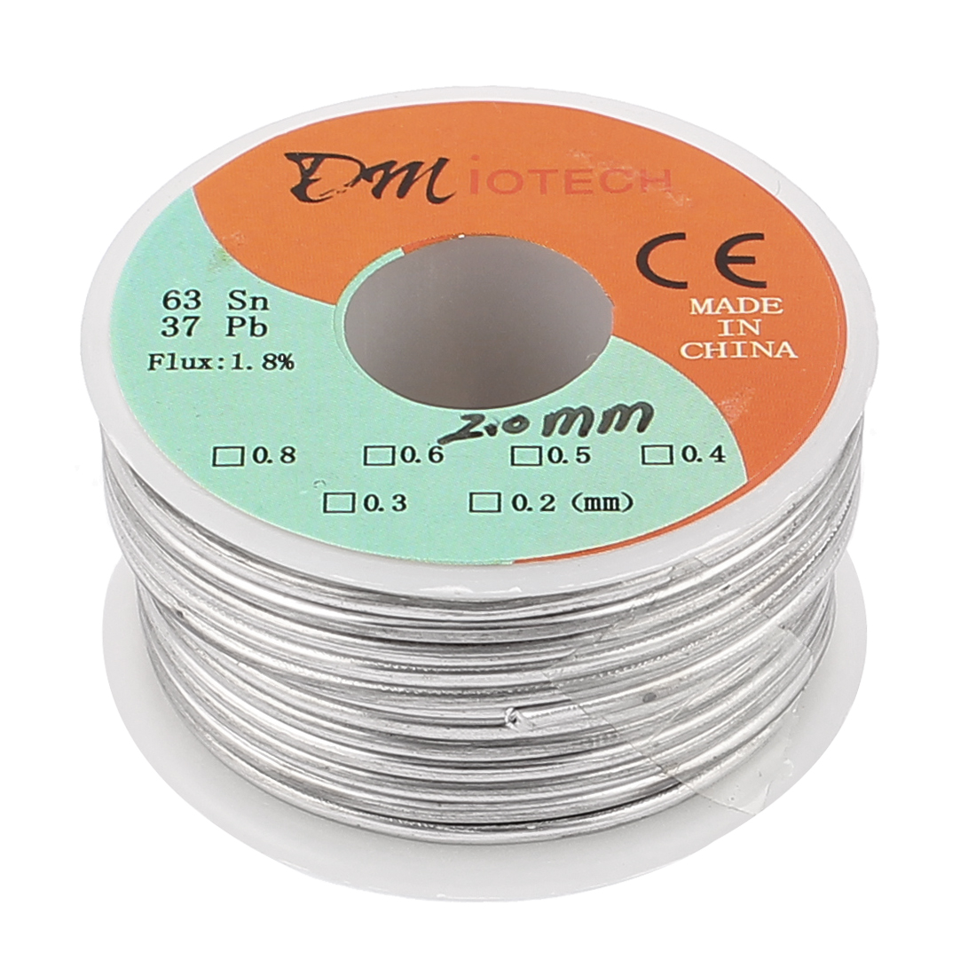 2mm Rosin Core Solder Tin Lead Solder Wire 63/37 for Electrical Soldering 150g