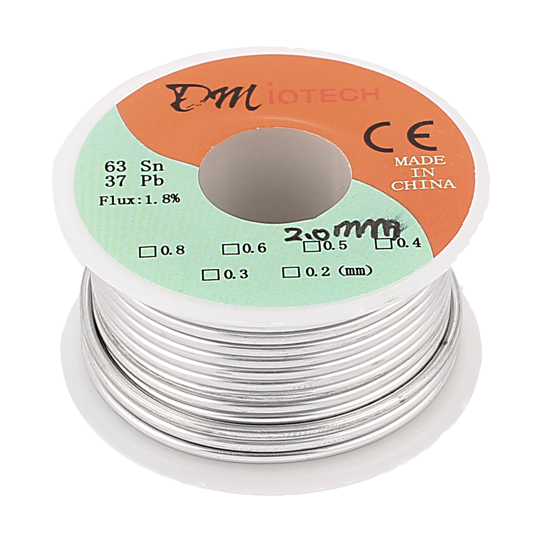 2mm Rosin Core Solder Tin Lead Solder Wire 63/37 for Electrical Soldering 100g