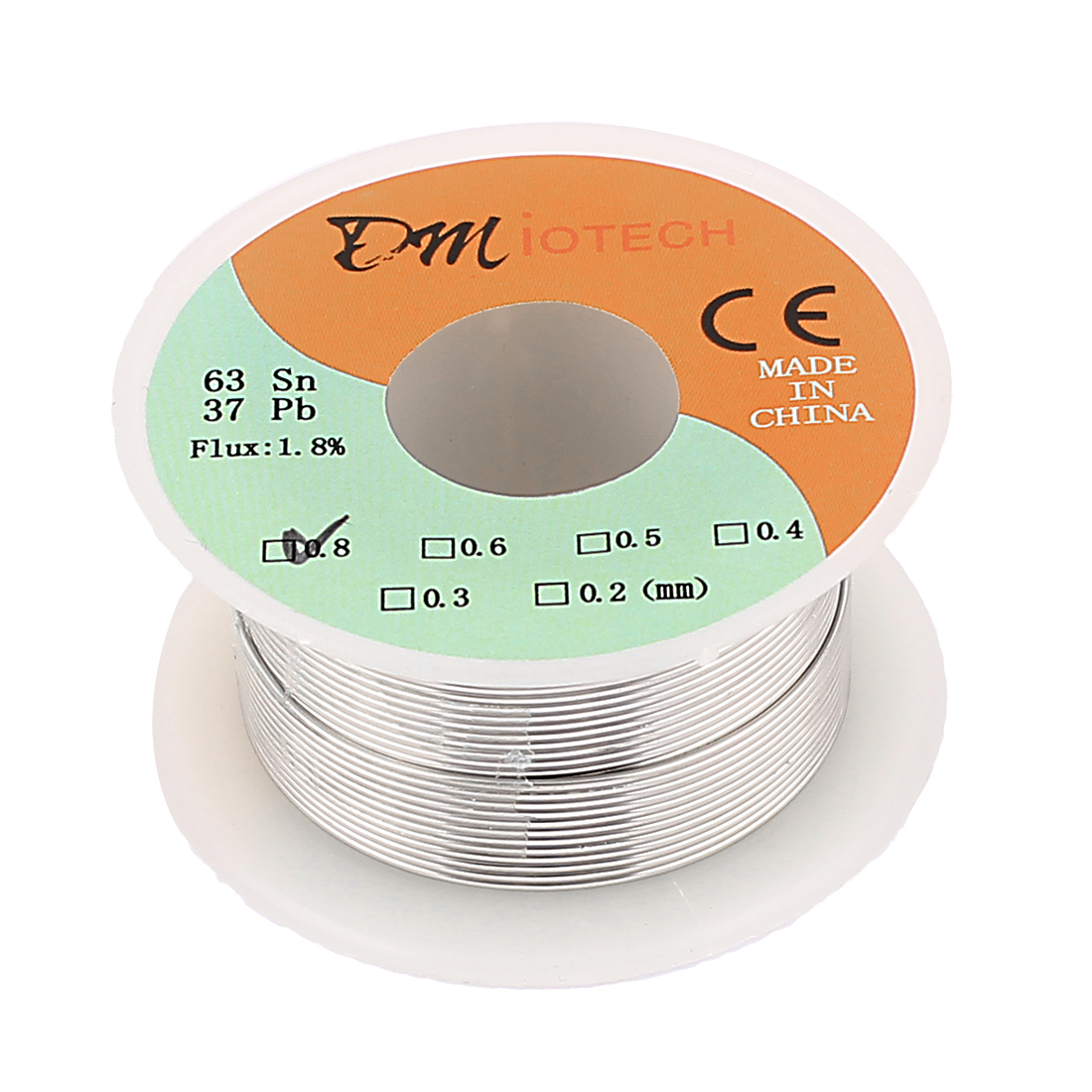 0.8mm 35G 63/37 Rosin Core Flux 1.8% Tin Lead Soldering Solder Wire