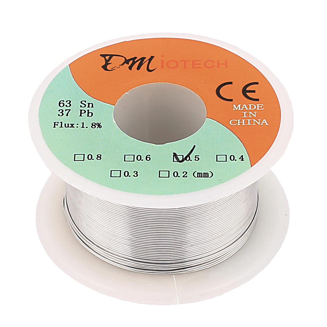 0.5mm 35G 63/37 Rosin Core Flux 1.8% Tin Lead Roll Soldering Wire