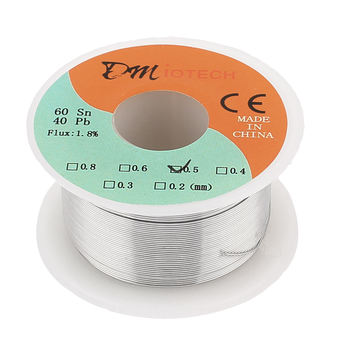 0.5mm 50G 60/40 Rosin Core Tin Lead Roll Soldering Solder Wire