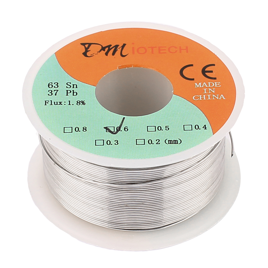 0.6mm 100G 63/37 Rosin Core Tin Lead Roll Soldering Wire