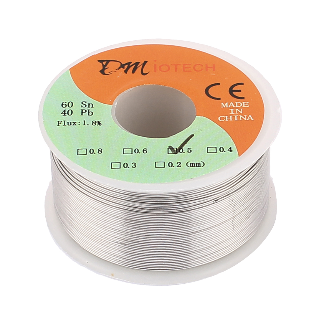 0.5mm 150G 60/40 Rosin Core Tin Lead Roll Soldering Solder Wire