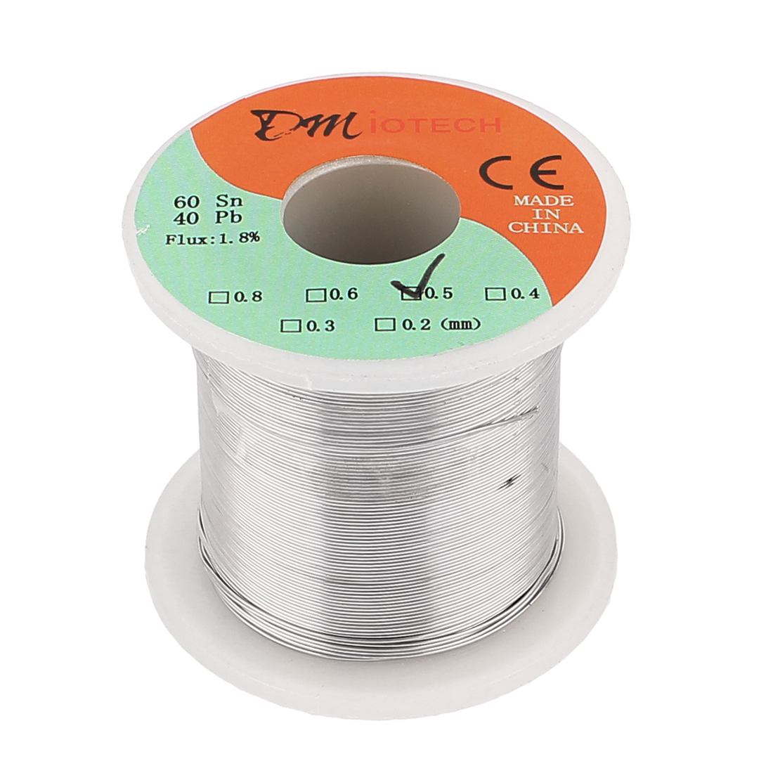 0.5mm 200G 60/40 Rosin Core Tin Lead Roll Soldering Solder Wire
