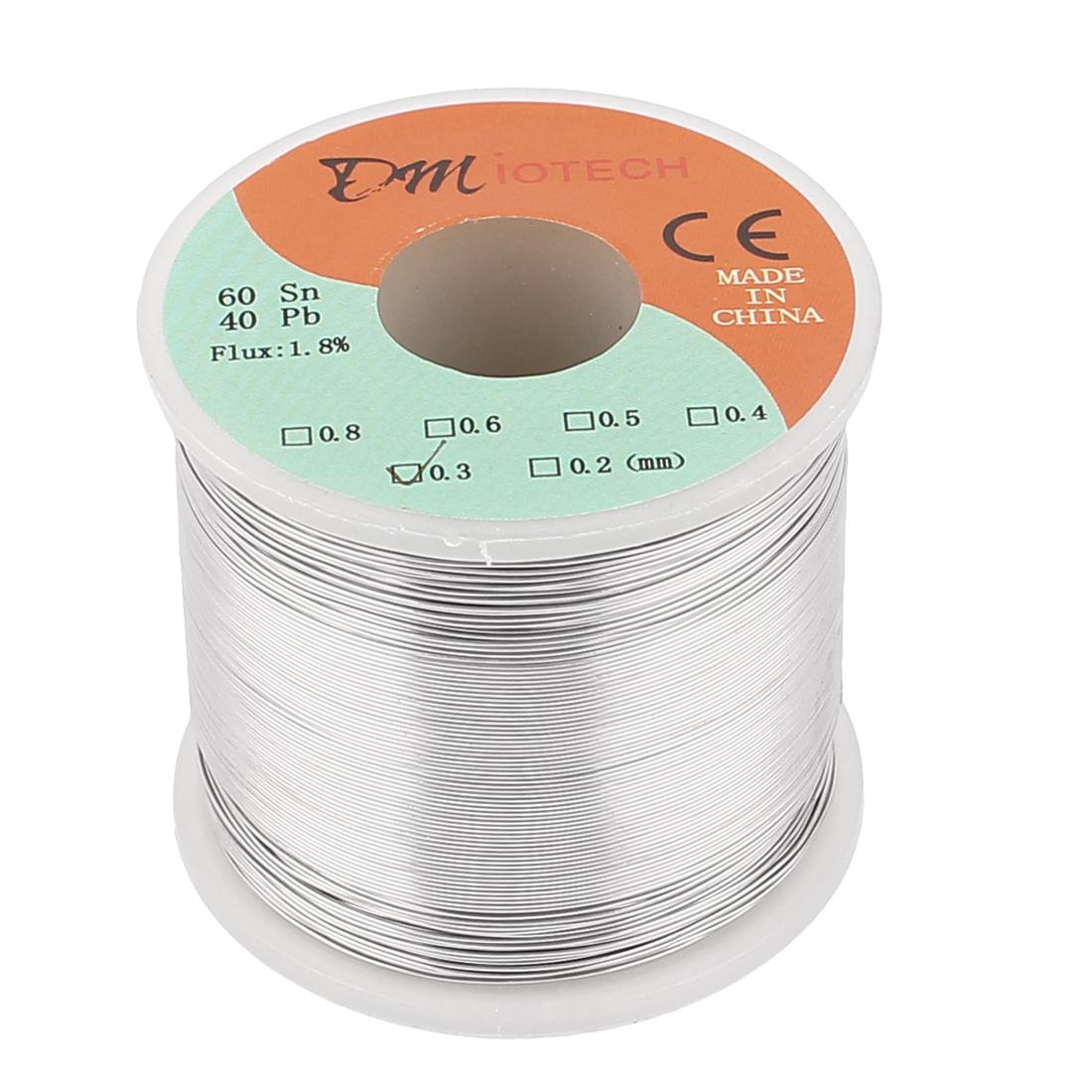 0.3mm 400G 60/40 Rosin Core Tin Lead Roll Soldering Solder Wire